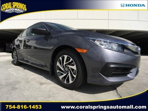 2017 Honda Civic for sale in Coral Springs, FL