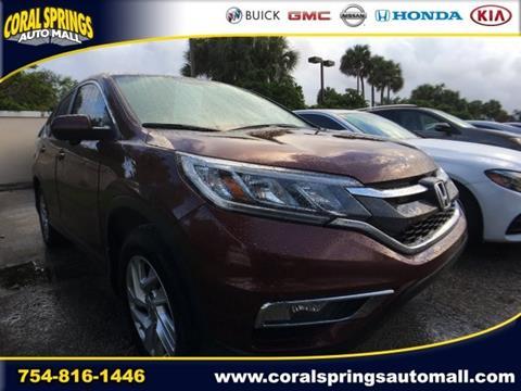 2015 Honda CR-V for sale in Coral Springs, FL