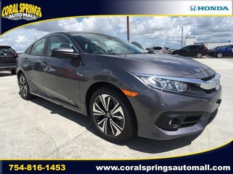 2017 Honda Civic for sale in Coral Springs, FL