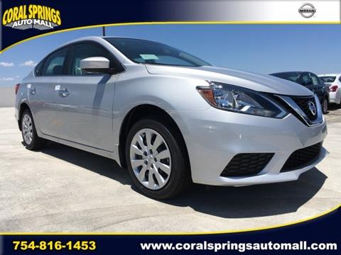 2017 Nissan Sentra for sale in Coral Springs FL
