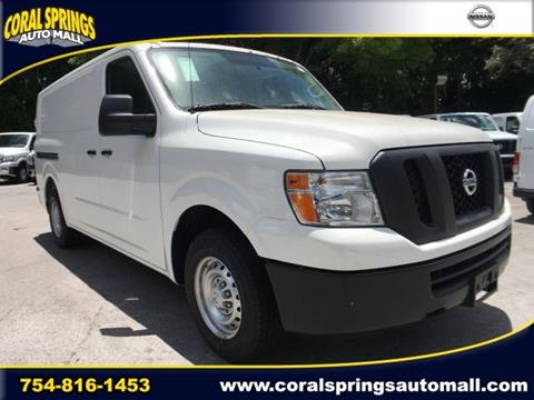 2016 Nissan NV Cargo for sale in Coral Springs FL