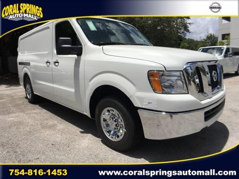 2017 Nissan NV Cargo for sale in Coral Springs FL