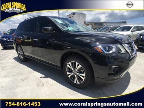 2017 Nissan Pathfinder for sale in Coral Springs FL