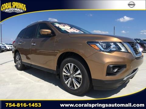 2017 Nissan Pathfinder for sale in Coral Springs FL
