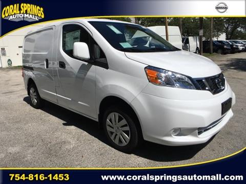 2017 Nissan NV200 for sale in Coral Springs, FL