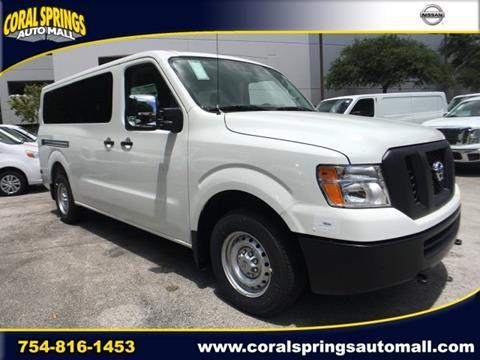 2017 Nissan NV Passenger for sale in Coral Springs, FL