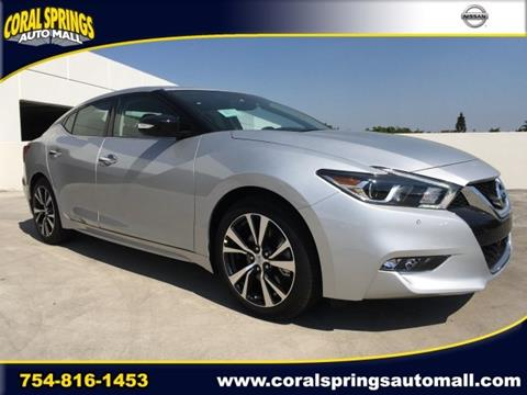2017 Nissan Maxima for sale in Coral Springs FL