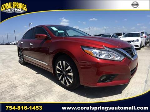 2017 Nissan Altima for sale in Coral Springs FL