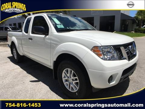 2017 Nissan Frontier for sale in Coral Springs FL