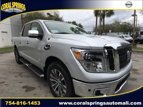 2017 Nissan Titan for sale in Coral Springs FL