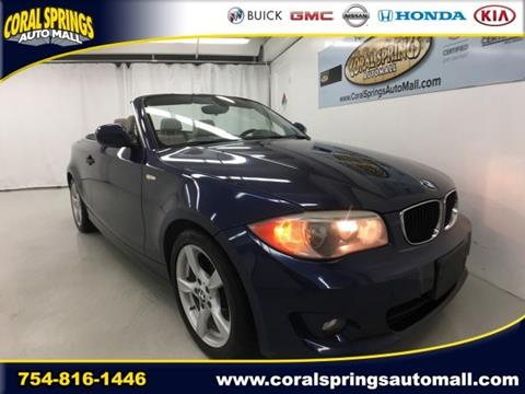 2013 BMW 1 Series for sale in Coral Springs FL