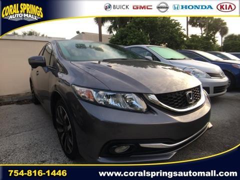 2014 Honda Civic for sale in Coral Springs FL
