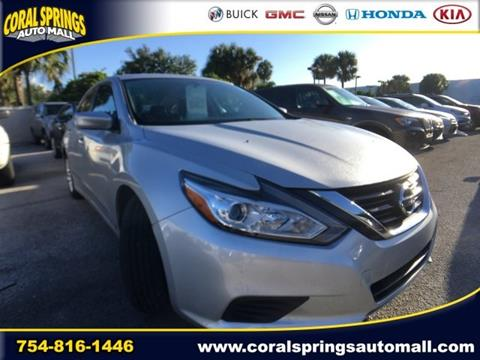 2016 Nissan Altima for sale in Coral Springs FL