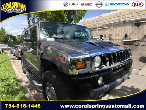 2008 HUMMER H2 for sale in Coral Springs FL