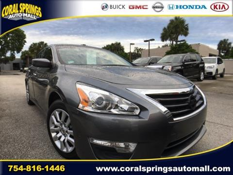 2015 Nissan Altima for sale in Coral Springs FL