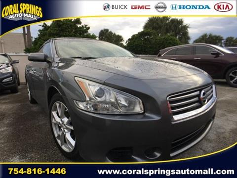 2014 Nissan Maxima for sale in Coral Springs FL