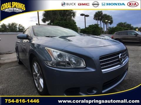 2011 Nissan Maxima for sale in Coral Springs FL