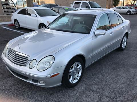 2005 mercedes benz e class for sale in nevada for Mercedes benz for sale las vegas