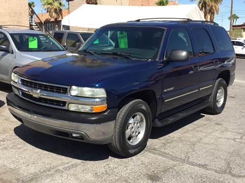 2002 Chevrolet Tahoe for sale in Las Vegas, NV