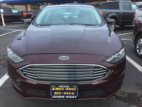 2017 Ford Fusion For Sale In Reno Nv