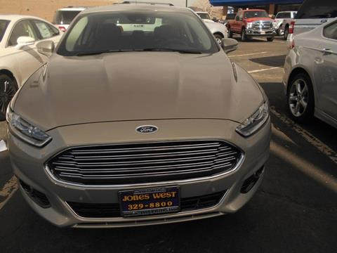 2015 Ford Fusion for sale in Reno, NV