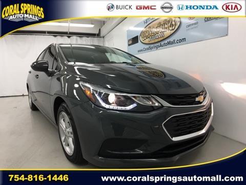 2017 Chevrolet Cruze for sale in Coral Springs, FL