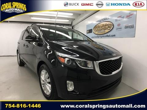 2016 Kia Sedona for sale in Coral Springs FL