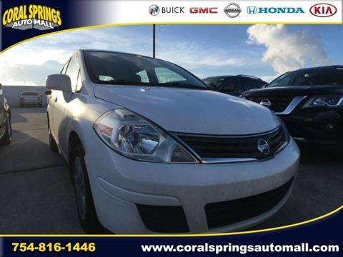 2011 Nissan Versa for sale in Coral Springs, FL