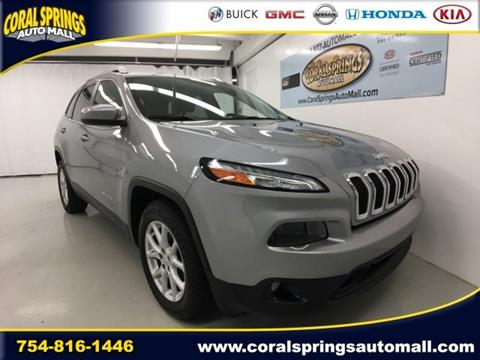 2015 Jeep Cherokee for sale in Coral Springs, FL