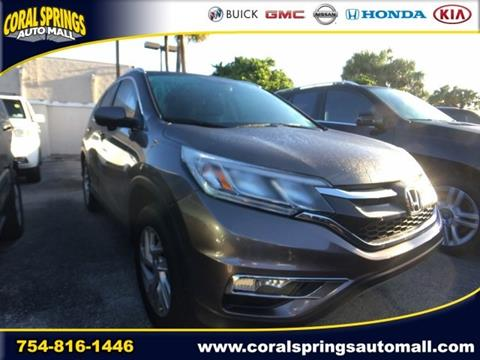 2015 Honda CR-V for sale in Coral Springs, FL