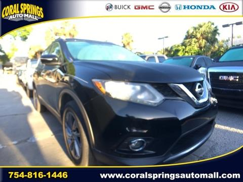 2014 Nissan Rogue for sale in Coral Springs, FL