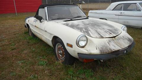 1982 Alfa Romeo Spider for sale at Classic Connections in Greenville NC