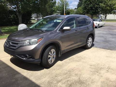 2012 Honda CR-V for sale at Classic Connections in Greenville NC