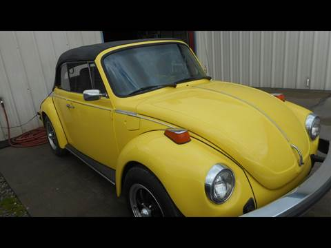 1974 Volkswagen Beetle Convertible for sale at Classic Connections in Greenville NC