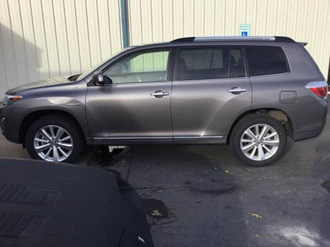 2013 Toyota Highlander Hybrid Limited for sale at Classic Connections in Greenville NC