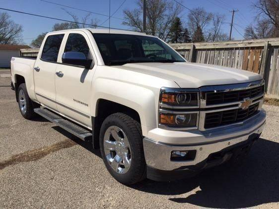 2014 Chevrolet Silverado 1500 Ltz Z71 In Roland Ok Blue Ribbon