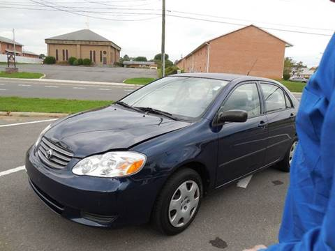 2004 Toyota Corolla for sale at Auto Bahn Motors in Winchester VA