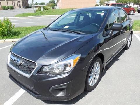 2012 Subaru Impreza for sale at Auto Bahn Motors in Winchester VA