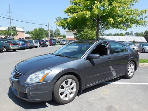 2007 Nissan Maxima for sale at Auto Bahn Motors in Winchester VA