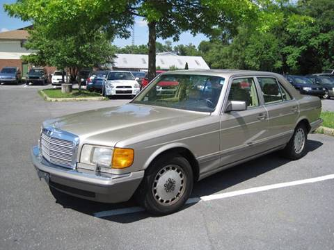 1991 Mercedes-Benz 300-Class for sale at Auto Bahn Motors in Winchester VA