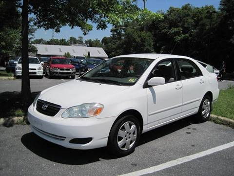 2006 Toyota Corolla for sale at Auto Bahn Motors in Winchester VA