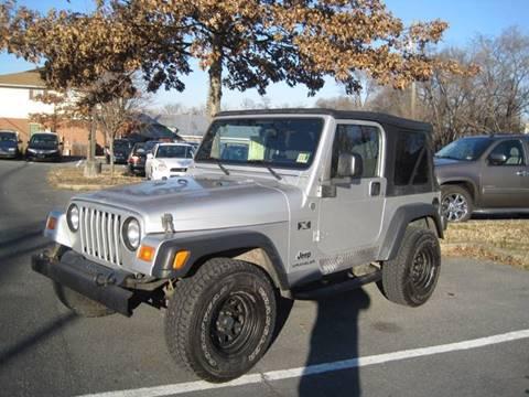 2006 jeep wrangler for sale in virginia. Black Bedroom Furniture Sets. Home Design Ideas