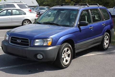 2004 Subaru Forester for sale at Auto Bahn Motors in Winchester VA