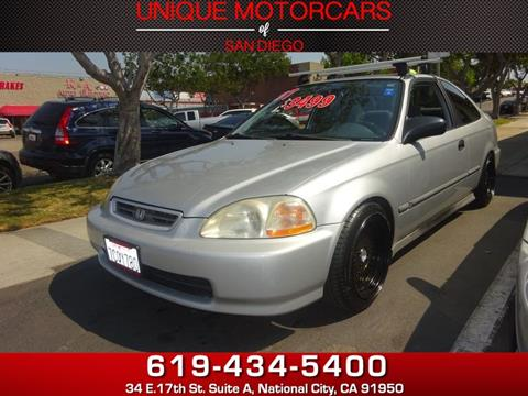 1997 Honda Civic for sale in National City, CA