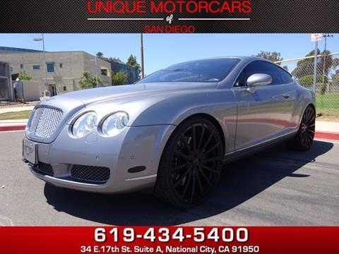 2005 Bentley Continental GT for sale in National City, CA