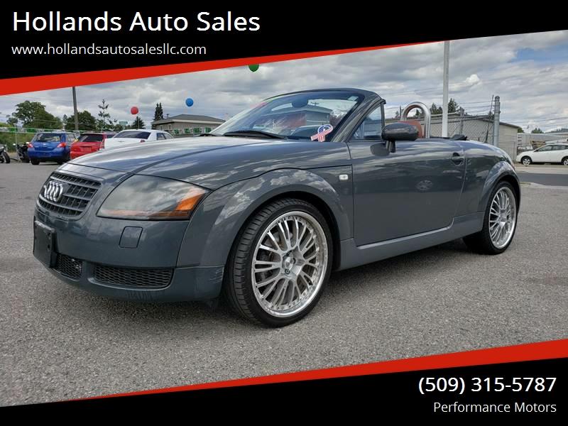 Audi TT Hp Quattro In Spokane WA Hollands Auto Sales - Audi spokane