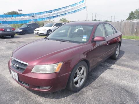2007 Hyundai Sonata for sale in Dickinson, TX
