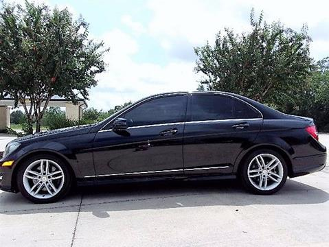 2013 Mercedes-Benz C-Class for sale in Dickinson TX