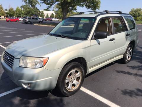 2007 Subaru Forester for sale in Indianapolis, IN