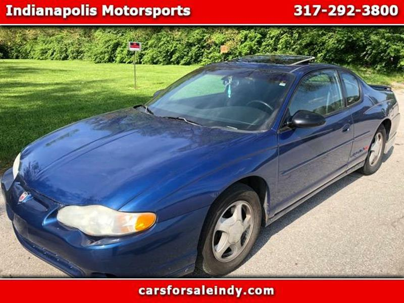 2003 Chevrolet Monte Carlo Ss In Indianapolis In Indianapolis